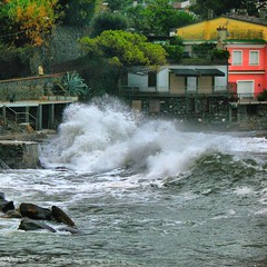 Nature's strength (klausthebest) Tags: sea italy italia rapallo liguria wave explore splash italians roughsea golddragon mywinners abigfave worldbest anawesomeshot visiongroup holidaysvacanzeurlaub theperfectphotographer goldstaraward novusvitanewlife naturesstrength