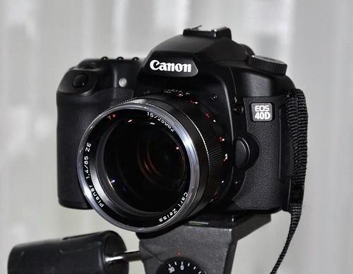Carl Zeiss T* 1.4/85 ZE @ Canon EOS 40D