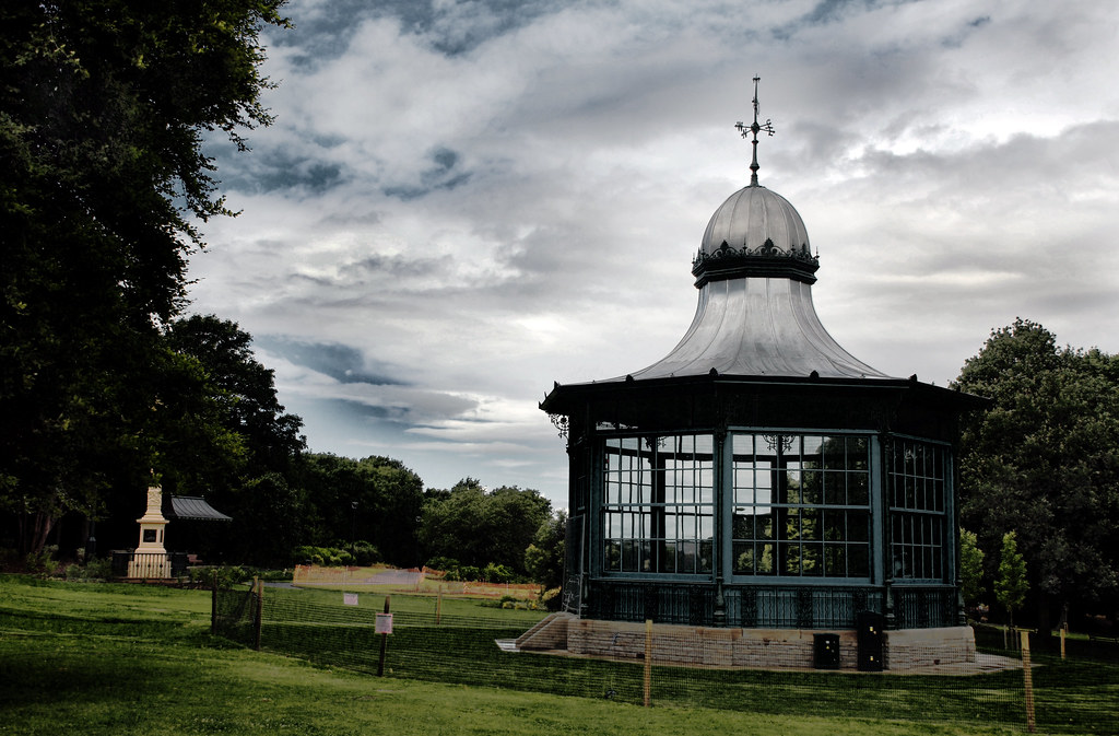 Bandstand in Weston Park