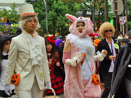 Pinky rabbit Kawasaki Halloween 2008 08