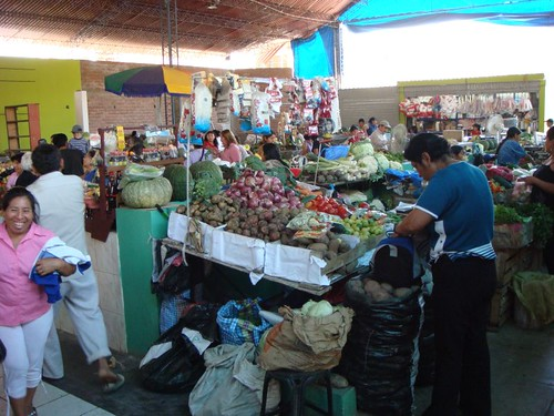 Nazca market.