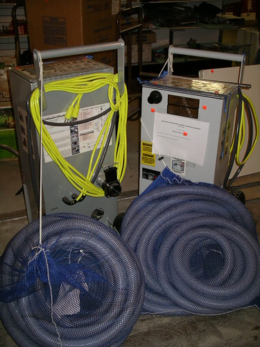 New Carpet Cleaning Equipment