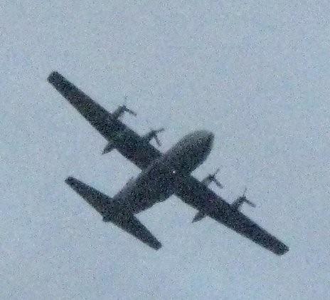 Air Plane C 130 Hercules from USAF