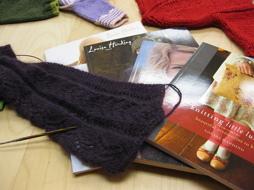 Book signing & knitting with Louisa