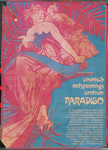Paradiso Posters 1968 – 2008