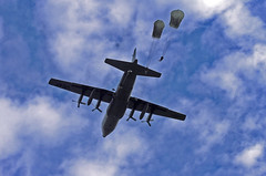 C-130 Dropping Troopers (82nd Sustainment Brigade) Tags: trooper colors training soldier army jump war military northcarolina americanflag troopers soldiers division airborne troops paratroopers c130 honors fortbragg usarmy allamerican nationalanthem 82nd womeninuniform aaw alltheway heavydrop providers quartermaster 82ndairbornedivision airbornedivision 82ndsustainmentbrigade specialtroopsbattalion airborneoperations salutetotroops new82ndairbornedivisionunit sustainmentbrigade troopersusarmy 11thquartermaster