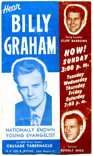 Billy Graham in Portland (1950) - Front