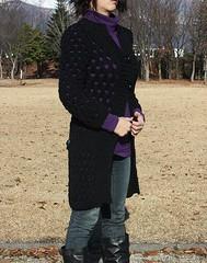 Diagonal Stitch Coat (ragikt_fl) Tags: knitting coat twinkle