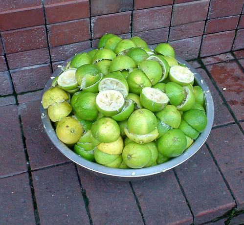 07.榨過後滿滿的新先檸檬