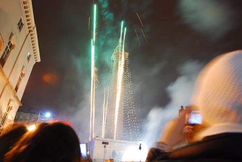 Lighting of the Washington Monument