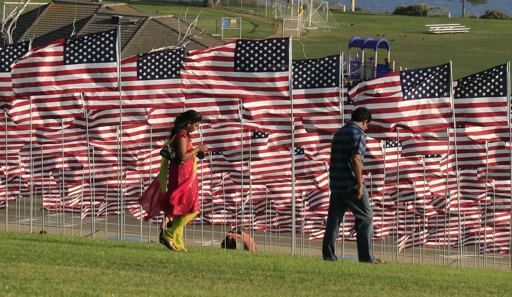 9 11 Flag Remembrance 52% Crop