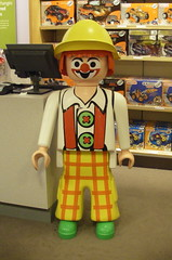 Giant Scary Clown Toy