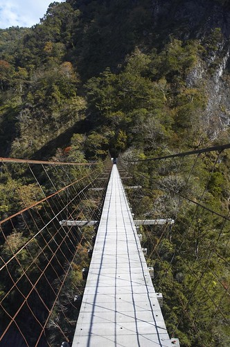 霞喀羅古道-白石吊橋
