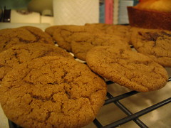 Molasses cookies sans sparkle