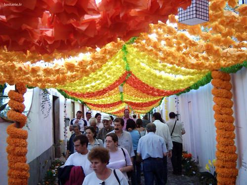 Les rues de la ville sont bondées pour cette fête qui ne se répète que tout les 4 ans
