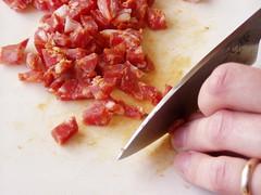 Penne al salame calabro