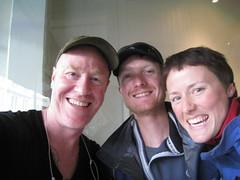 Stephen, Walter und Karo