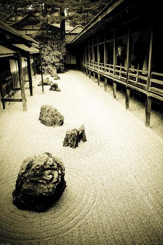 CA3C0143 : Silence Garden 4 -Kongobuji Temple #6-