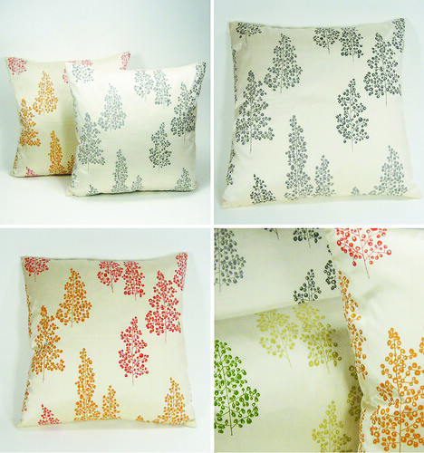 Sharon Spain Silk Pillows