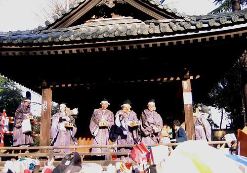 根津神社の節分祭(豆まき) - 3
