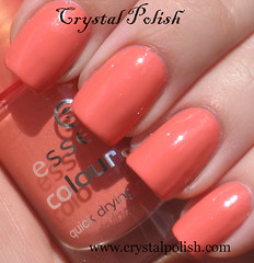 Essence What Do U Think? (CrystalPolish) Tags: orange coral essence shimmer whatdouthink