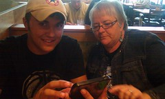 Colton and @debworks try maps on the Galaxy Tab. #140conf here we come!