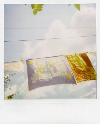Polaroid - dreamy scarves