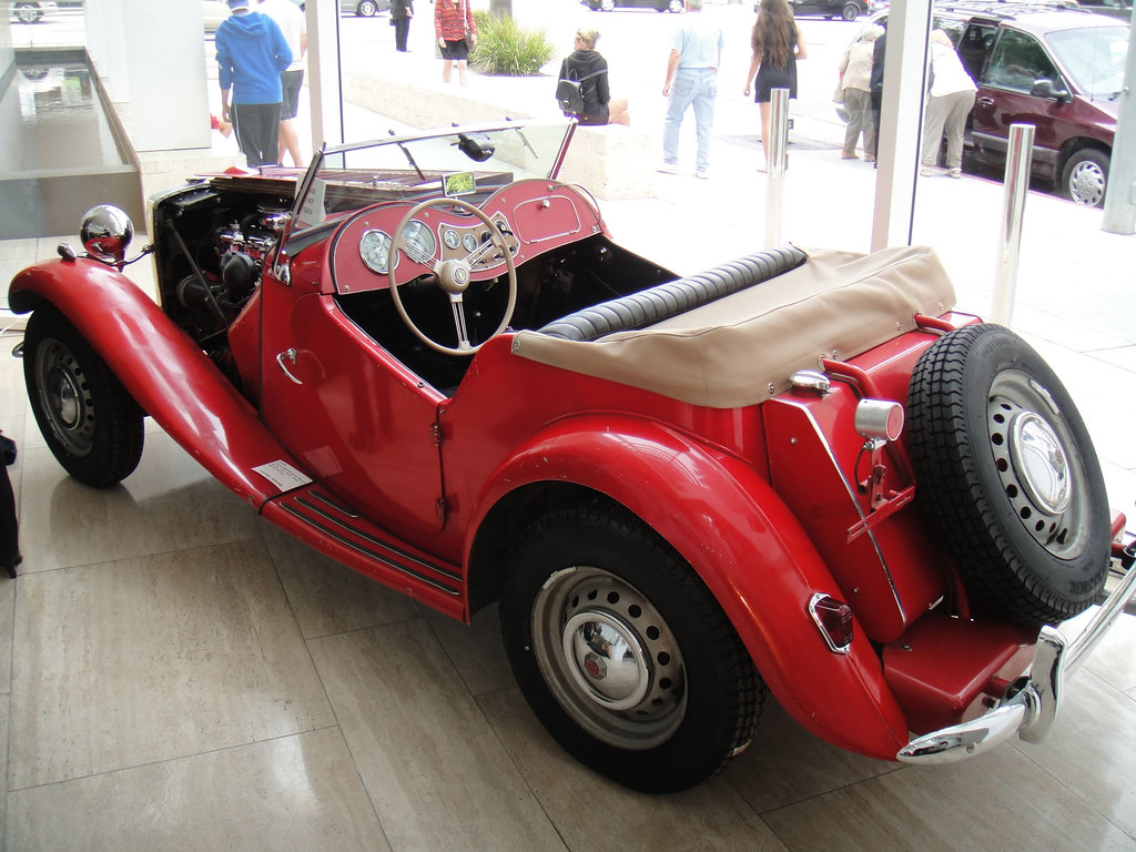 Debbie Reynolds Auction - 1952 red MG TD by Doug Kline, on Flickr