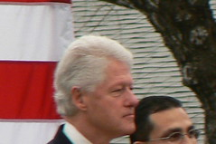 Bill Clinton and Abel Herrero