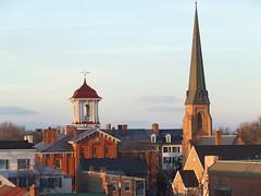Not a cluster but Spires (gotbob) Tags: church canon spires maryland steeple frederick slidr frednet