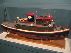 Tug Shamokin (Piedmont Fossil) Tags: philadelphia model ship pennsylvania tugboat tug independenceseaportmuseum