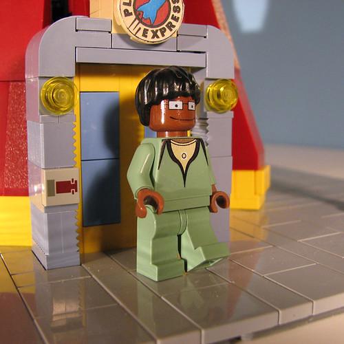Futurama Lego Hermes Conrad