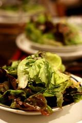 bibb (boston) lettuce salad