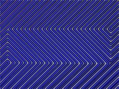 Op Art blue (Marco Braun) Tags: blue lines 3d optical bleu illusion blau ilusion lignes optic opart linien optischetäuschung optische täuschung singintheblues abigfave