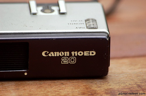 My Old Canon 110ED20 Zoom