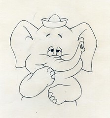 Cocoa the Elephant animation drawing