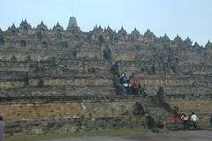 Overzicht Borobudur