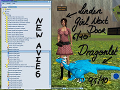 New Linden Avies in Library - Virtual Girl Next Door
