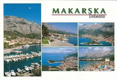Mkarska, Croatia (Bubble-Gum II) Tags: postcard postcrossing collection bubblegum