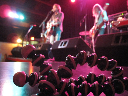 Hayes Carll & Band and my Gorillapod
