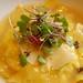 raviolli with ricotta, lemon, peas, tarragon