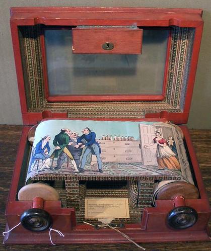 Mister O'Squat - A  Rolling Panorama - attrib. Thomas Rowlandson (Princeton G.Arts)