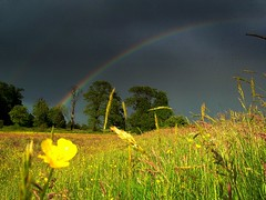 Chasing Rainbow (Nicolas Valentin) Tags: nature field scotland rainbow scenery magic tonight beautifull arcenciel ecosse riverkelvin
