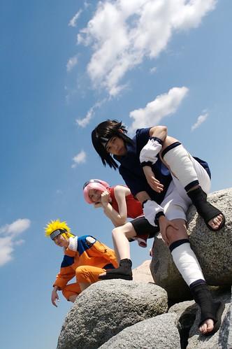 Naruto Sasuke Uchiwa Foto Cosplay