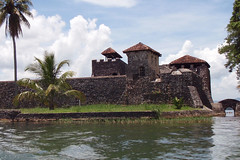 The fort at Rio Dulce
