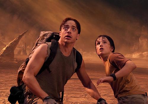 Brendan Fraser Viaje al centro de la Tierra
