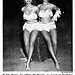Dancers Carol Carter and Blondell Cooper Try Out the Tree of Hope - Jet Magazine, Dec 18, 1952