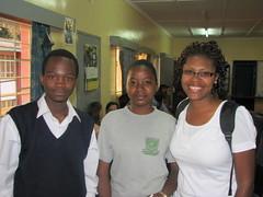 Carmen and Gideon (LearnServe International) Tags: travel school david education international learning service zambia cie kaunda learnserve lsz08 davidkaunda