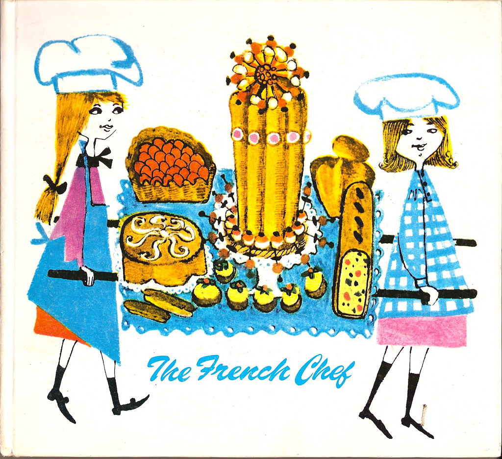 Vintage French cook book