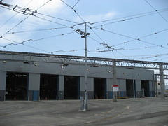 Muni Metro East Light Rail Maintenance and Operations Facility